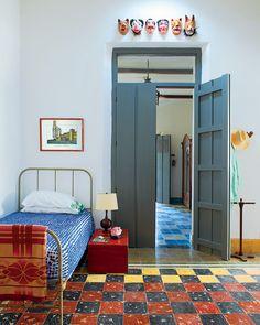 .... A bedroom in mexico