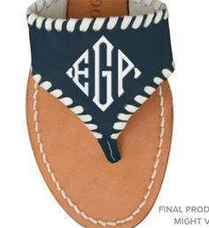 Personalizando las sandalias