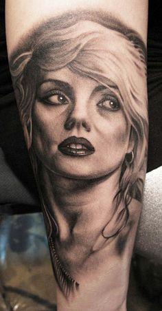 Tattoo Artist - Bob Tyrrell - portraits tattoo | www.worldtattoogallery.com