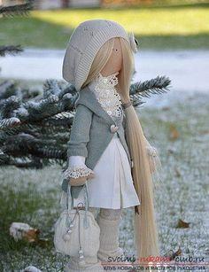 Выкройки куклы Коннэ подкупают своей простотой исполнения и оригинальностью 19 фотографий