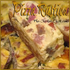 Pizza Rustica, aka: Pizza Gain: a Traditional Italian Easter Dish Pizza Rustica is a traditional, Italian dish that is served at Easter; it's part pastry, part pie, part quiche and part deli platter. Easter Dinner Traditional, Traditional Italian Dishes, Pizza Rustica, Quiche, Easter Dinner Recipes, Appetizer Recipes, Easter Desserts, Easter Brunch, Pizzagaina Recipe