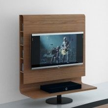 Rotating tv cabinets and bespoke tv stands from couture - Mueble tv plasma ...