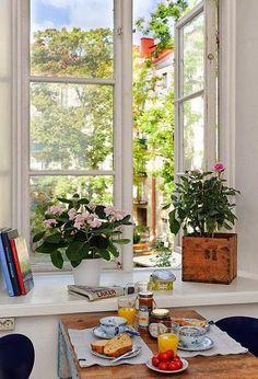 Arredamento Inspiration: sale da pranzo o angoli per la colazione | Cottage Colore