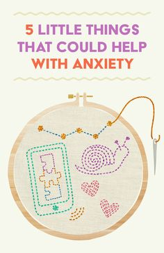 5 Little Things That Could Help With Anxiety