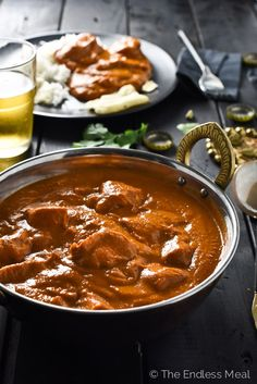 Easy Butter Chicken | this delicious Indian meal takes only 30 minutes to make and can be made dairy-free and paleo with a few simple substitutions |theendlessmeal.com