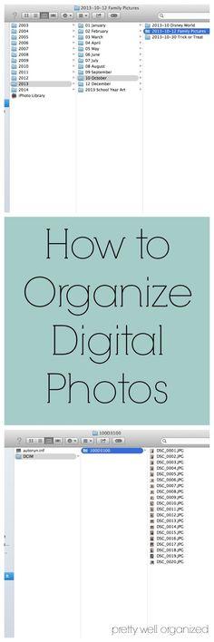 Easy Photo Organization