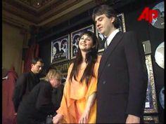 .Sarah Brightman and Andrea Bocelli!!  :)