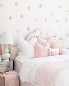 Watercolor Polka Dots Wall Decals  - The Project Nursery Shop - 4