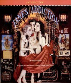 "Jane's Addiction, ""Ritual de lo Habitual"" [1990] | 58 Vintage Ads For Alt-Rock Classics"