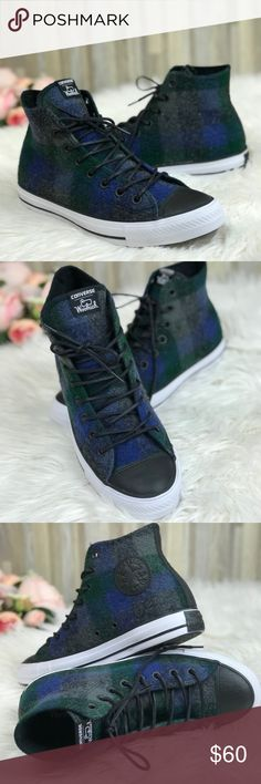 8f9feff40e30 Converse Woolrich Ctas HI Almost Black Brand new with no lid box. Price is  firm!