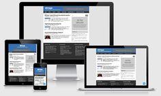 Blogghiamo Blogger Template | @templateweblogs | Pinterest | Blogger ...