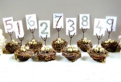 Table Numbers $25.00... im getting married during easter holiday.. this just might work