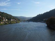 Heidelberg river, Deutschland, Germany, Alemania Germany, River, Pictures, Outdoor, Viajes, Heidelberg, Photos, Outdoors, Deutsch