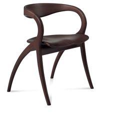 Star Chair Wenge by Domitalia Design.