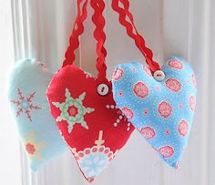 Helen Philipps, I love the ric rac hangers and buttons