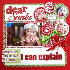 Dear Santa Layout