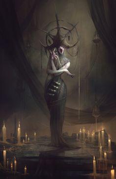 Morbid Fantasy — Shaman – fantasy/horror character concept by...