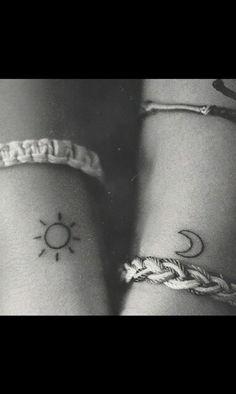 best friend matching tattoos