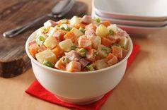 Salade de patates douces