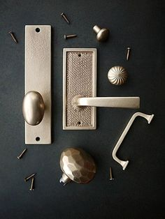 Architectural Hardware from Sun Valley Bronze : Remodelista - faceted knob
