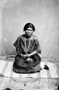 navajo woman 1887