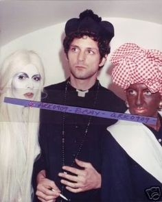 Stevie as a ghost, Lindsey a priest....Christine as Aunt Jemima?