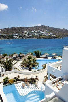 Mykonos Greece | Mykonos Suites Hotel - Kivotos in Ornos Mykonos Greece-♚LadyLuxury♚