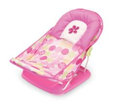 Summer Infant Mother's Touch Deluxe Baby Bather, Pink by Summer Infant. $16.09. 2 position back rest. Removable and machine washable cove. Can be used in both tub and undivided kitchen sink. Includes deluxe head support. Soft fabric sling conforms to your baby. The Mother's Touch deluxe baby bather from Summer Infant cradles newborns in an effort to make bath time more calm and relaxed. Soft mesh fabric and an adjustable backrest conforms to newborns to give them much n...
