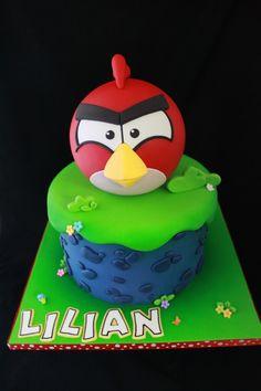 1951b63cecc Angry Birds cake Angry Birds Birthday Cake