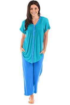 1a85c1b91 TexereSilk Texere Women s Pajama Set Sleepwear - Luxury Nightwear for Her  WB9992