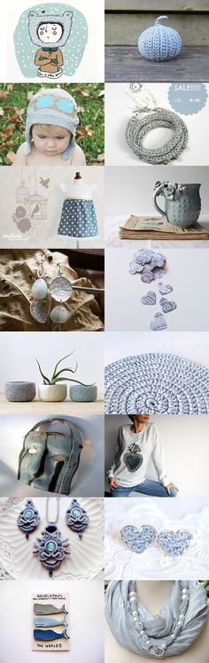 Light blue winter by Fuoco Terra on Etsy--Pinned with TreasuryPin.com
