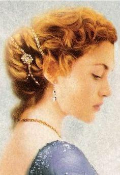 Kate Winslet Titanic Hair!