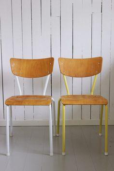 Painted chair, by Christine Renée Kjellby / Møbelpøbel
