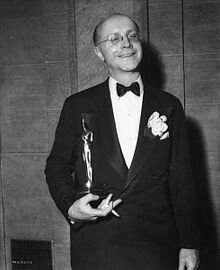 "BEST ADAPTED SCREENPLAY: Donald Ogden Stewart for ""The Philadelphia Story""."