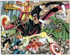 doom skrull vs avengers by namorsubmariner on deviantART