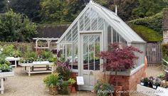 Alitex The Hidcote ~National Trust Greenhouses Dieses Gewächshaus steht in NT Hidcote Manor.