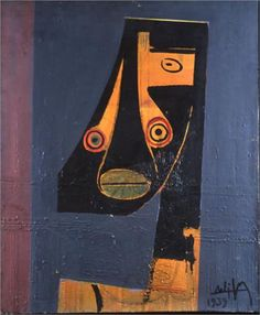 Cubist Face - Wifredo Lam Art Experience:NYC www.artexperience...