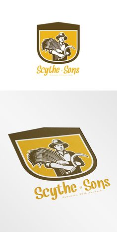 Scythe and Sons Homemade Wholesome F by patrimonio on Creative Market