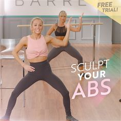 Reshape your entire body with Xtend Barre for FREE. *No barre required! Barre Exercises At Home, Barre Workout, Butt Workout, At Home Workouts, Fitness Herausforderungen, Fitness Workout For Women, Physical Fitness, Fitness Motivation, Workout Bauch