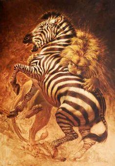 """On the Edge"" - x original acrylic by Ezra Tucker. Available at RS Hanna Gallery - Fredericksburg, Texas. Wildlife Paintings, Wildlife Art, Animal Paintings, Art Paintings, Animal Sketches, Animal Drawings, Lion Photography, Big Cats Art, Lion Art"