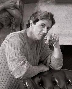 Sylvester Stallone - Cigar Smoker