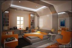 Cool-Futuristic-And-Impressive-Modern-Bedroom-Decoration-Idea-For-Teen.jpg (590×395)