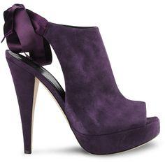 Alberta Ferretti Shoes | Heel ($378) ❤ liked on Polyvore