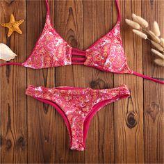 $13.74 (Buy here: https://alitems.com/g/1e8d114494ebda23ff8b16525dc3e8/?i=5&ulp=https%3A%2F%2Fwww.aliexpress.com%2Fitem%2FHot-Red-Micro-Bikini-Set-Push-Up-Biquinis-Feminino-2016-Brasileiro-Floral-Print-Swimwear-Sexy-Women%2F32683695224.html ) Hot Red Micro Bikini Set Push Up Biquinis Feminino 2016 Brasileiro Floral Print Swimwear Sexy Women Swimsuit Beach Bathing Suit  for just $13.74