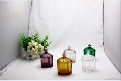 Heart Shape Glass Candy Jar