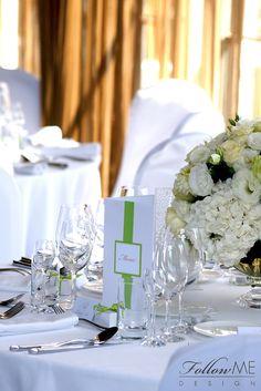 Winietki / Karty menu / Podziękowanie dla gości / Eleganckie białe dekoracje ślubne od FollowMe DESIGN / Wedding Place Card / Menu / Wedding Favors / Elegant White Wedding Decorations & Details by FollowMe DESIGN