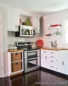 This affordable kitchen makeover will have you diving into your own kitchen remodel!