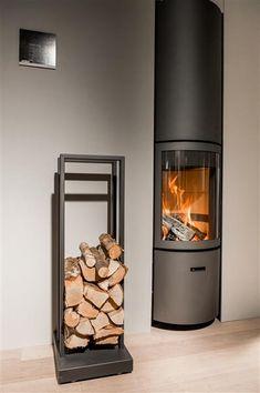 Stuv mobiel houtblokkenkarretje - Product in beeld - - Startpagina voor sfeerverwarmnings ideeën | UW-haard.nl