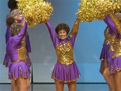 Senior citizen cheerleading squad shows spirit is ageless ---> Cheerleading may seem like a young woman's sport, but try telling that to members of the Sun City Poms.  The only requirement to join this Arizona-based cheer squad is age. Members must be older than 55, and some are much more mature than that: The team has two octogenarians. (January 6)