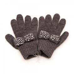 Catya Guanti fiocco Girls Accessories, Gloves, Winter, Winter Time, Winter Fashion